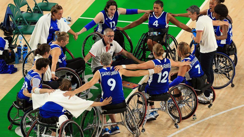 gaspard allié coussin anti escarre soutient le handisport : basket fauteuil