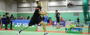 gaspard allié coussin anti escarre soutient le handisport : Para Badminton