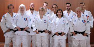 gaspard allié coussin anti escarre soutient le handisport : Para judo