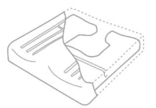 mousse viscoélastique à mémoire de forme